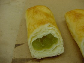 青えんどう豆のパイ 食品サンプル