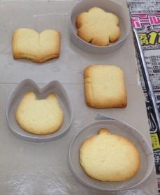 型取り前のクッキー