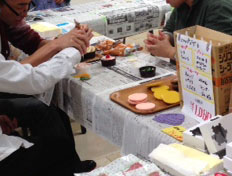 安藤食品サンプル製作所 エキトピア 製作体験ブース
